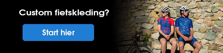 Custom fietskleding fietsen