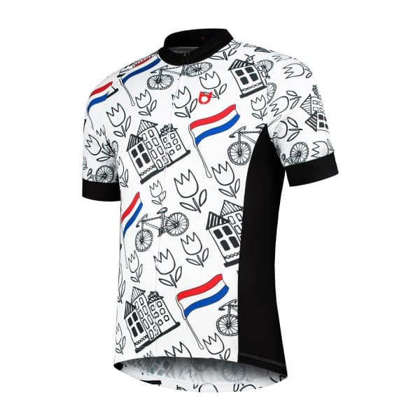TD cycling jersey side Holland style