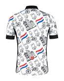 TD wielershirt achterkant Holland
