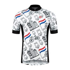 TD cycling jersey front side Holland style