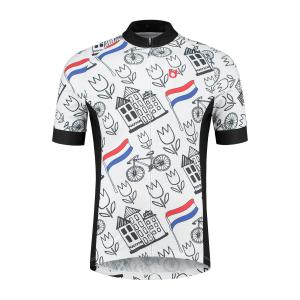 TD sportswear voorzijde holland nederland wielershirt