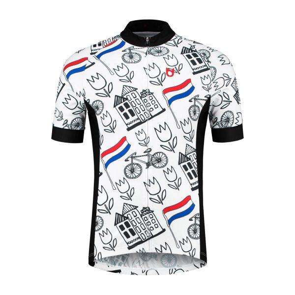 TD wielershirt voorkant Holland