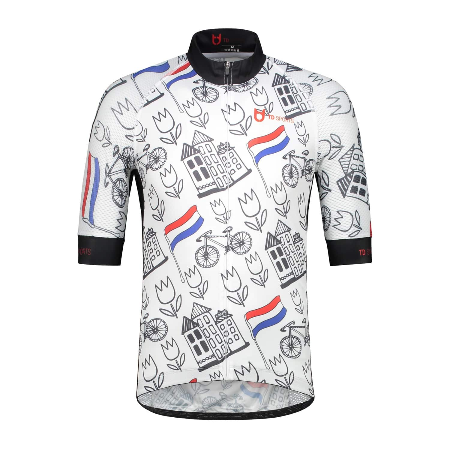 Dutch Holland cycling jersey TD sportswear