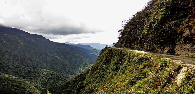 Bolivia La Paz deathroad mtb