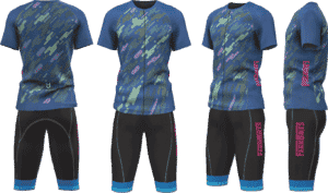 Cycling set teamwear Farmbikes and TD sportswear