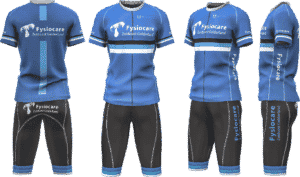 3D picture fysiocare cycling teamwear