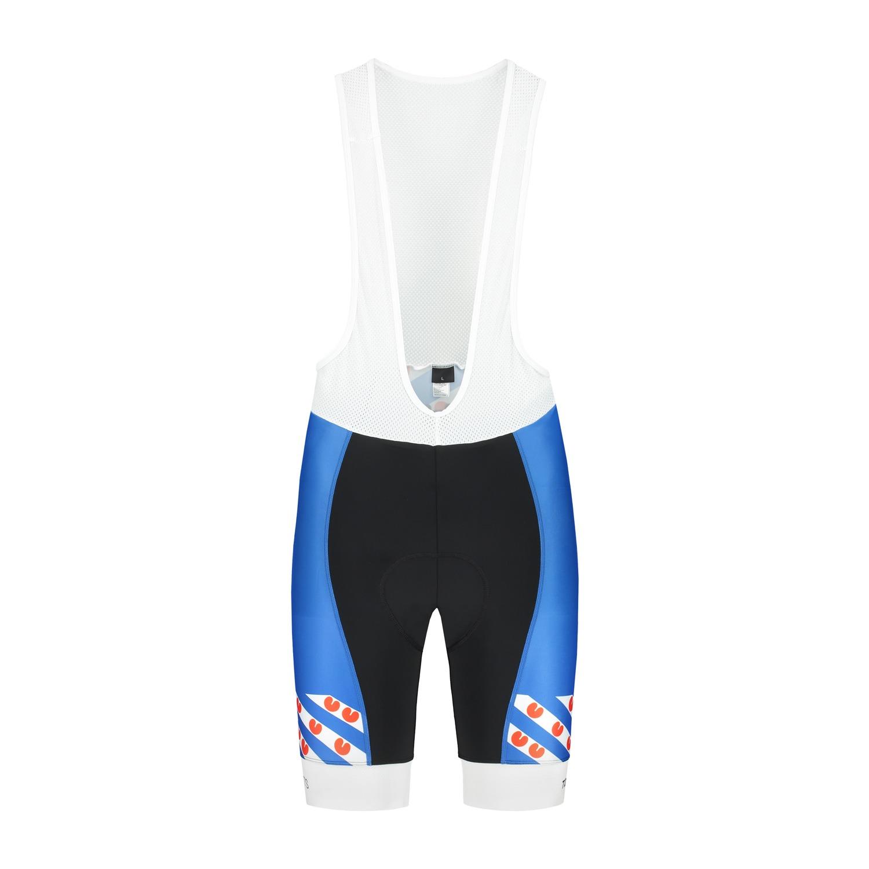 Frisian cycling bibs blue quality td sportswear