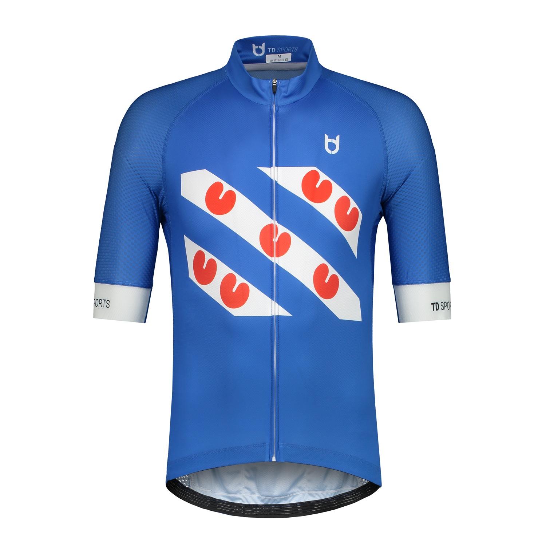 Frisian cycling jersey high quality td sportswear