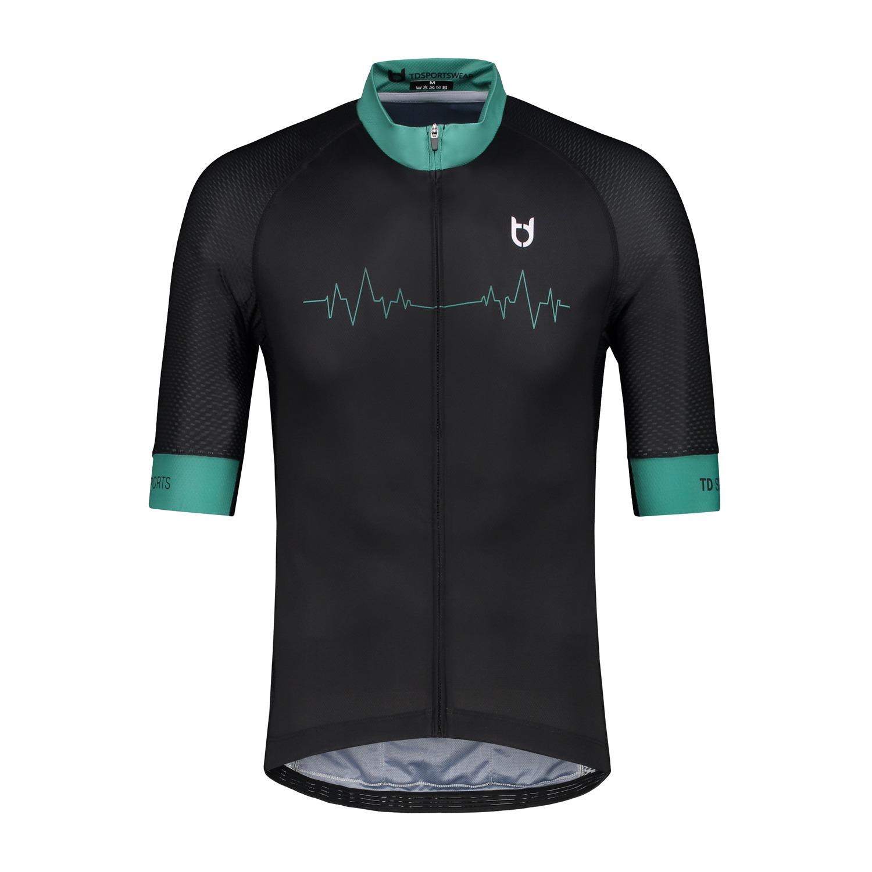 td sportswear front heartbeat fietsshirt