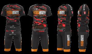 Fietskleding Farmbikes 3D TD sportswear