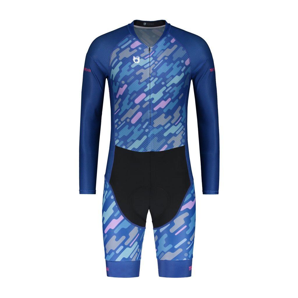 Cyclist skin aero suit TD sportswear