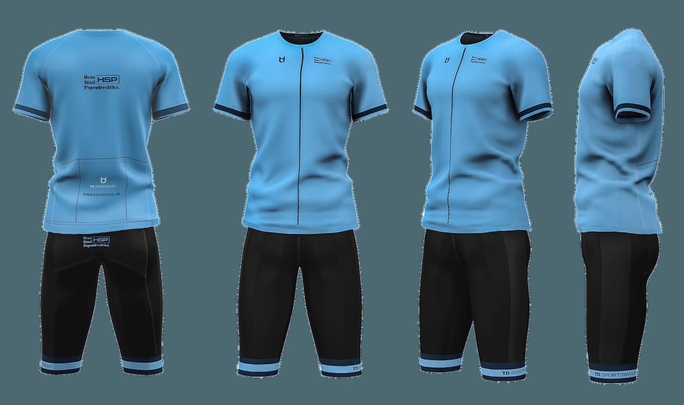 HSP team wear custom cycling