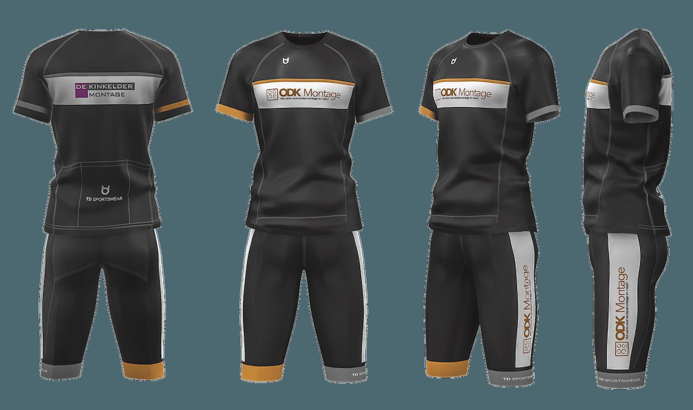 ODK Montage cycling team wear