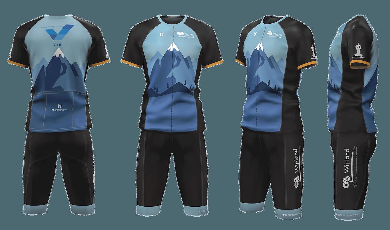 VAB custom cycling team wear