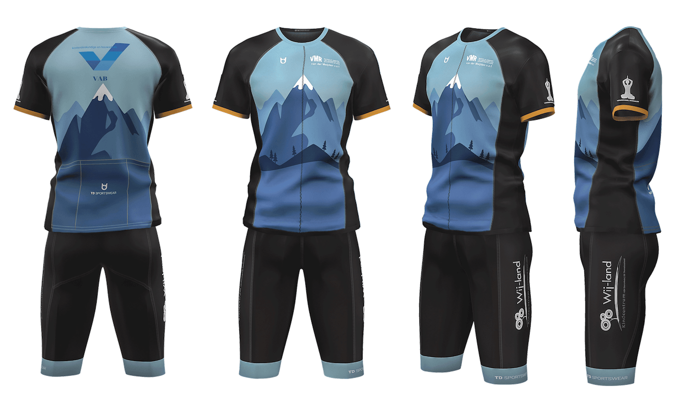 VAB custom fietskleding