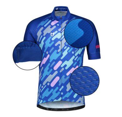 Pro lijn wielershirt TD sportswear