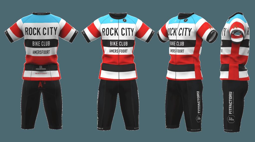 Rock City wielerkleding teamkleding ontwerp