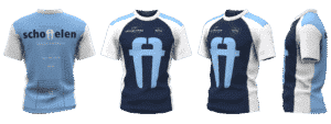 running shirt custom team wear