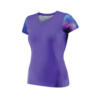 vrouw hardloopshirt ontwerpen en bedrukken