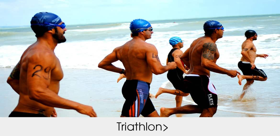 Custom made designed sportswear and apparel for Triathlon