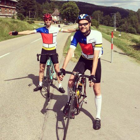 Customer picture cycling apparel custom made TD sportswear