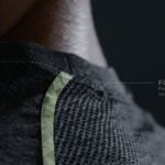 Flatlock seams sports jersey