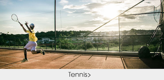 Custom designed tennis apparel and sportswear