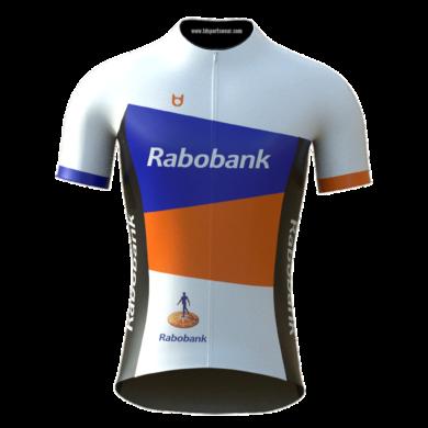 Rabobank custom cycling jersey TD sportswear