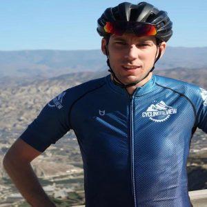 TD custom cycling jersey customer