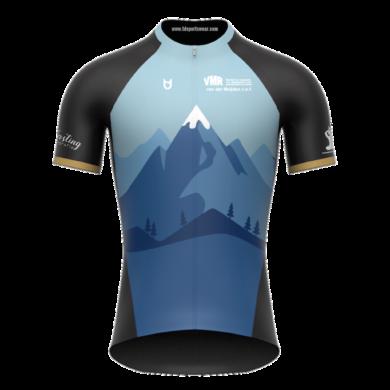 VAB custom cycling jersey TD sportswear
