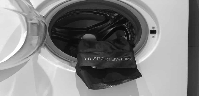TD sportswear wielerkleding wassen instructies