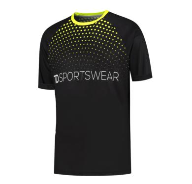 Custom running shirt front td sportswear