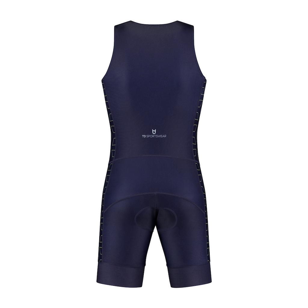 TD sportswear triathlon pak achterzijde