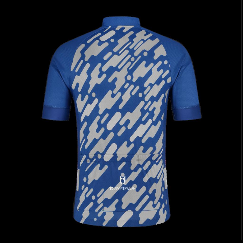 TD sportswear cycling apparel jersey sport 100 achter