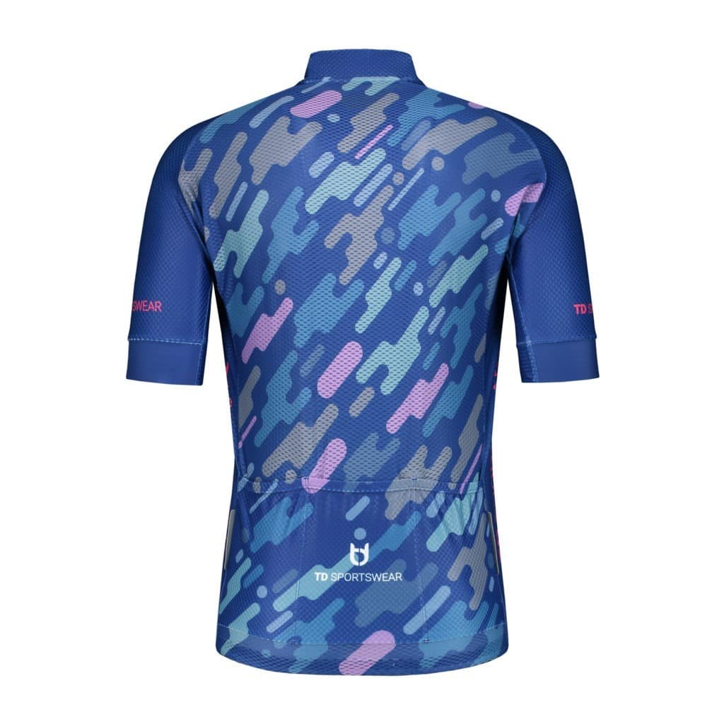 Elite 1200 back custom cycling jersey TD