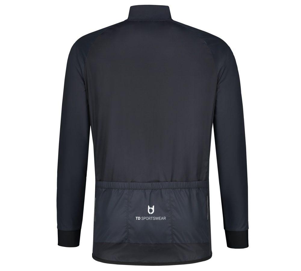 Regenjas achterzijde TD sportswear custom