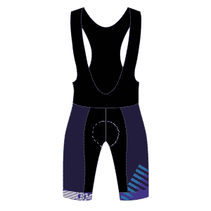IBM cycling bib front