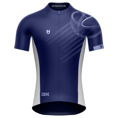 IBM wielershirt td sportswear