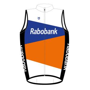 Rabobank wind vest shell cycling TD sportswear