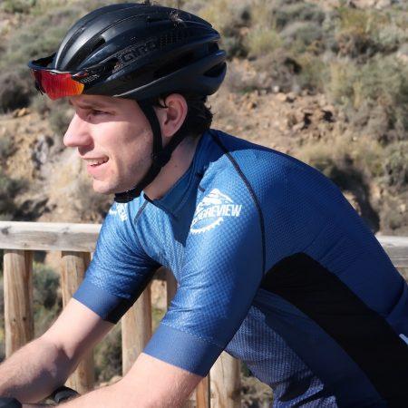 Elite 1200 klantfoto wielershirt TD sportswear