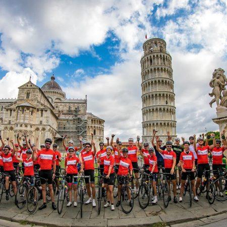 Cycle trip Italy custom cycling apparel TD sportswear