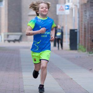 Kids custom loopshirts ontwerpen TD sporswear kinderen