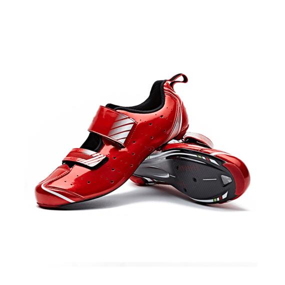TD Hybrid custom triathlon schoenen ontwerpen vooraanzicht
