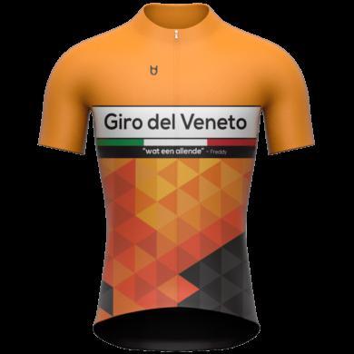 TD sportswear custom cycling jersey Giro del Veneto
