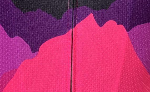 Pro 300 wielershirt detail foto print TD sportswear
