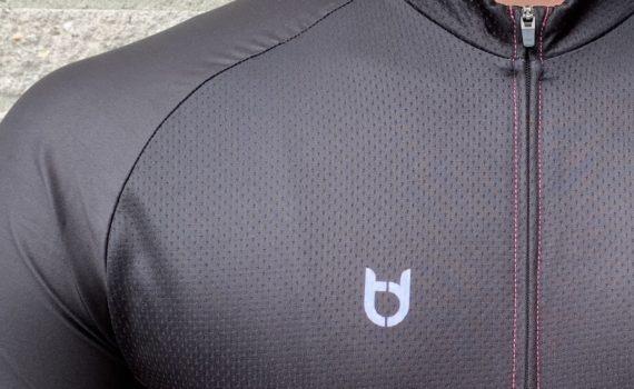 Pro 300 wielershirt detail foto TD sportswear