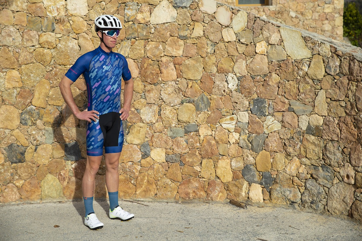 Fiets review TD custom sportkleding