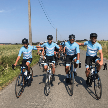 fietskleding teamkleding custom TD